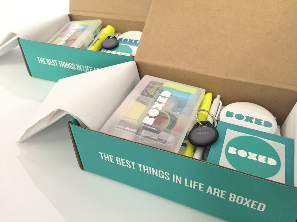 Boxed.com onboarding