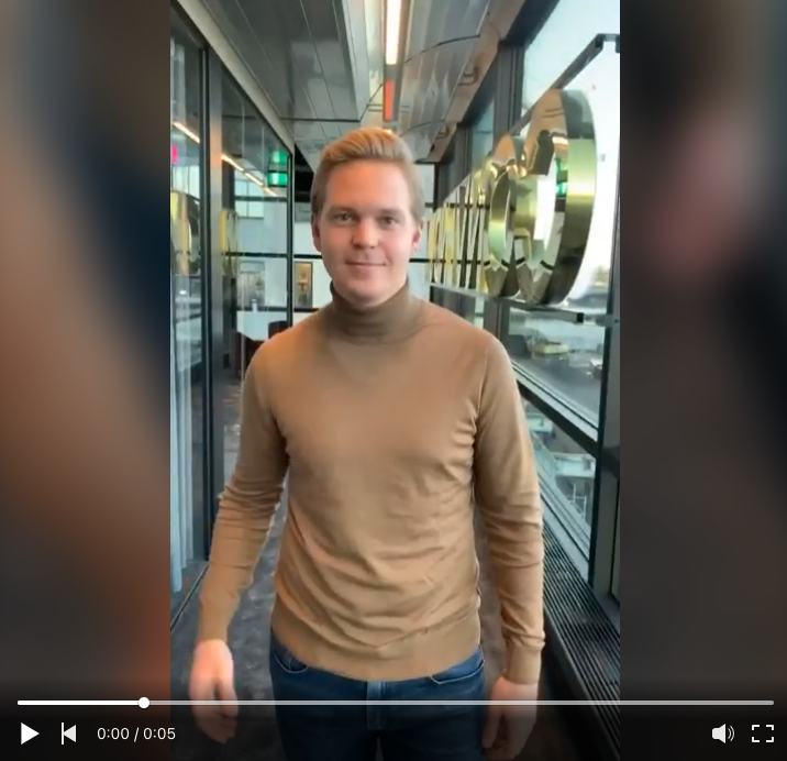 Welcome video new hire.